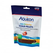 Aqueon Cichlid Color Enhancing Fish Food 4.5 ounces