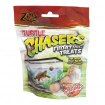 "Zilla Turtle Chasers Floating Treats Shrimp 2 ounces 5.125"" x 1.75"" x 6.5"""