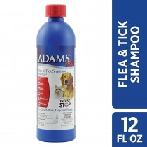 Flea and Tick Shampoo with Precor for Cats and Dogs 12 ounces