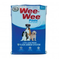 "Four Paws Wee-Wee Pads 7 pack White 22"" x 23"" x 0.1"""