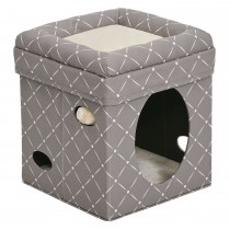 "Midwest Curious Cat Cube Mushroom 15.13"" x 15.13"" x 16.50"""