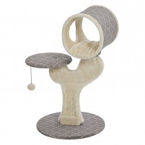 "Midwest Feline Nuvo Salvador Cat Furniture Mushroom 22"" x 17.75"" x 30.75"""