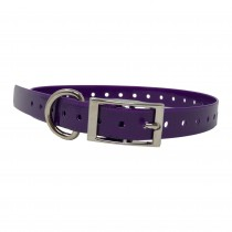 """The Buzzard's Roost Replacement Collar Strap 3/4"""" Purple 3/4"""" x 24"""""""