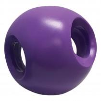 "Hueter Toledo Soft Flex Powerhouse Dog Toy Purple 5.5"" x 5.5"" x 5.5"""