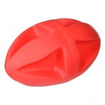 "Hueter Toledo Soft Flex Clutch Football Dog Toy Red 7"" x 4"" x 4"""