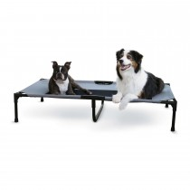 "K&H Pet Products Original Pet Cot Extra Large Gray 32"" x 50"" x 9"""