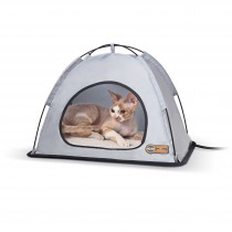 """K&H Pet Products Pet Thermo Tent Small Gray 14"""" x 18"""" x 12.5"""""""