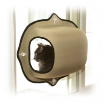 K&H Pet Products EZ Mount Window Pod Kitty Sill