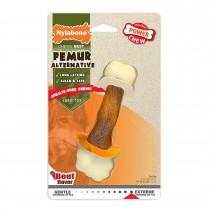 Nylabone Power Chew Femur Alternative Dog Chew Toy Beef Medium