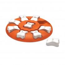 """Outward Hound Nina Ottosson Dog Smart Puzzle Game Large Orange 12.25"""" x 11.25"""" x 1.75"""""""