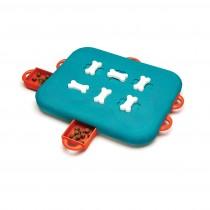 "Outward Hound Nina Ottosson Dog Casino Puzzle Game Large Blue 13.6"" x 14.5"" x 2"""