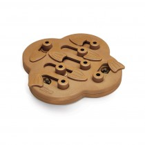 "Outward Hound Nina Ottosson Dog Hide N' Slide Puzzle Game Large Brown 14.50"" x 11.75"" x 2"""