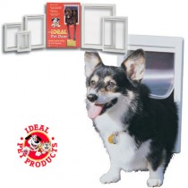"Ideal Pet Products Designer Series Pet Door Super Large Gray 2.12"" x 17.93"" x 23.87"""